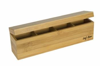 Bamboo Tea Box by Leaf + Bean