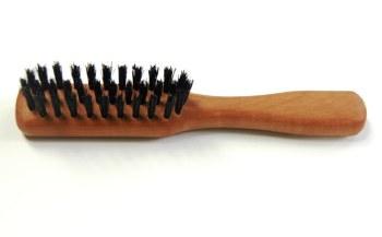 Beard Brush Pearwood Handle
