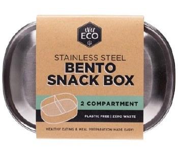 Bento Box S/steel 2compartment