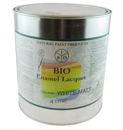 Bio Enamel Lacquer 4L White Matt