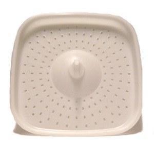 Bokashi Bucket Part - Grate White