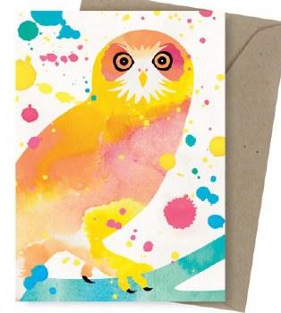 Greeting Card - Boobook Owl