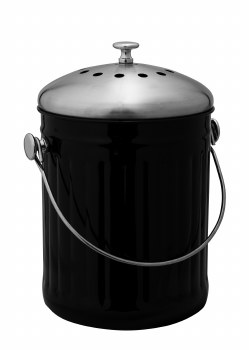 Compost Collector Black 5L