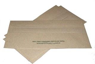 Brown DL Envelopes 100%recycled