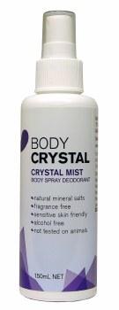 Spray Deodorant Body Crystal, Crystal Mist - Fragrance Free