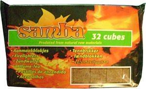 Firelighters Wooden Samba Pk32