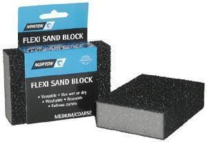 Flexible Sanding Block or sponge Medium/Coarse
