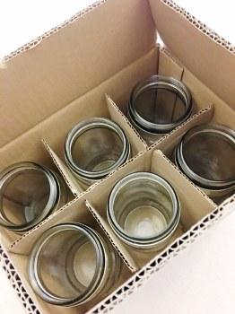 Fowlers Vacola Sz3 Jar #20 Box of 6 Bottles