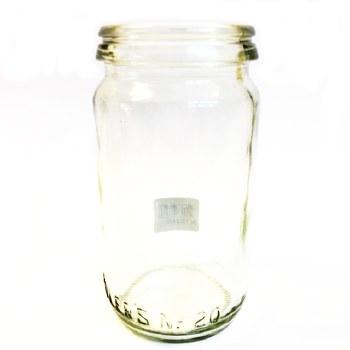 Fowlers Vacola Size 3 Preserving Bottle #20 - Mason Jar
