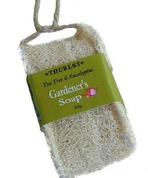 Gardeners Loofah Tap Soap