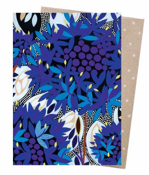 Greeting Card - Native Blue C