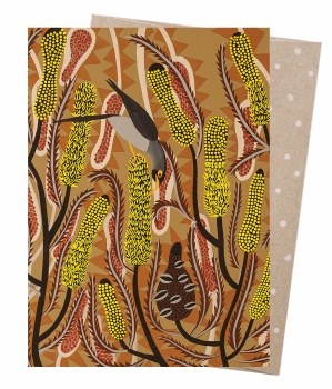 Greeting Card - Candlestick Banksia