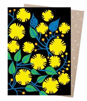 Greeting Card - Golden Wattle