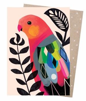 Greeting Card - King Parrot
