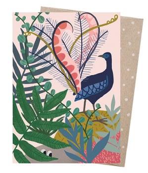 Greeting Card - Lyrebird's Serenade