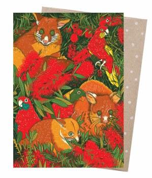 Greeting Card - Possum's Menagerie