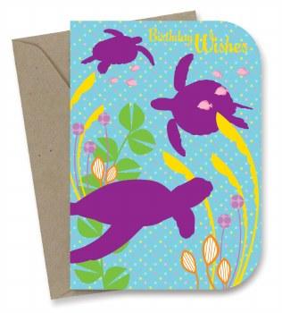 Greeting Card - Sea Turtles