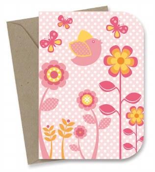Greeting Card - Spring Garden