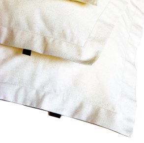 Hemp Pillowcases (2) Oxford White