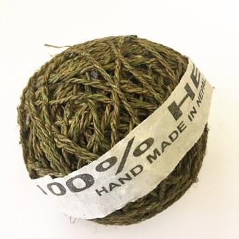 Hemp Ball of Twine Large Moss