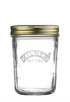 Kilner Wide Preserve Jars, 6 x 350ml