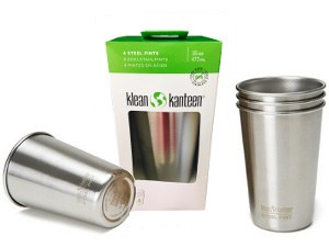 Klean Kanteen Stainless Steel Pint Cup 4pk