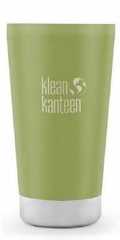 KleanKanteen Insulated Tumbler 16oz Bamboo Leaf Green
