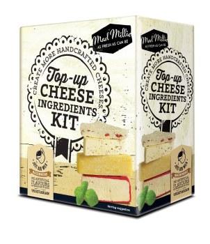 Mad Millie TopUp Cheese IngredientsKit