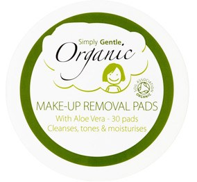 Face Cleansing pads Aloe Vera