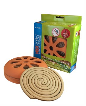 Mozzie Coils with Terracotta holder