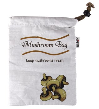Fruit and Veg Bag - Mushroom Blackout Bag