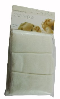 Baby Wipes 3pk Org Cotton