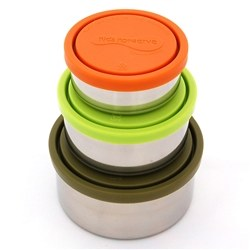 Snack Box Nesting Set of 3 Moss