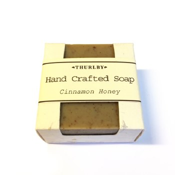 Olive Oil Soap  Cinnamon & Honey