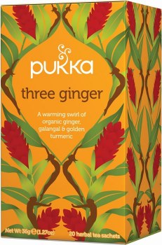 Pukka 3 Ginger Tea Bags (20)