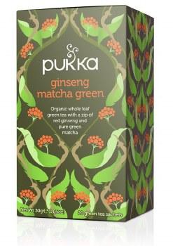 Pukka Ginseng Matcha GreenTea