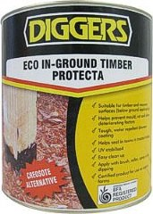 Sealer for Timber, Safe Alternative to Creosote 1L - BFA certified