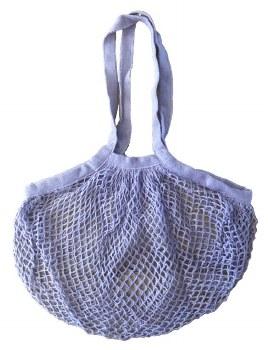 Shopping Bag Mesh Violet Organic Cotton