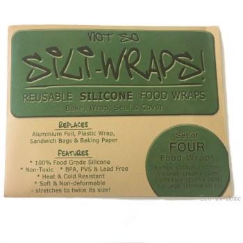 Silicone Not-So-Sili Wraps 4pk