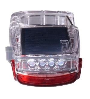 Solio Clip-Mini USB/Solar LED Torch