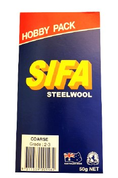 Steel Wool Hobby Pack Coarse (2-3) 50g