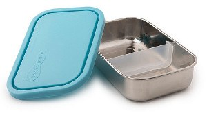 UKonserve Lunchbox rectangle with divider Sky