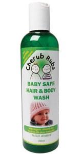 Hair and Body Wash 250ml by Cherub Rubs
