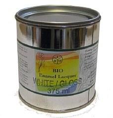 Bio Enamel Lacquer 375ml  White Semi-Gloss
