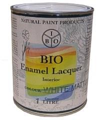 Bio Enamel Lacquer 1L White Matt
