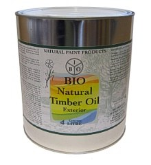 Bio Natural Timber Oil 4L Exterior