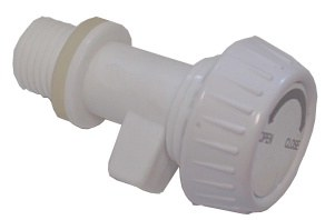 Bokashi Bucket Part - Tap White