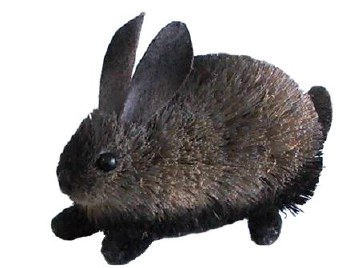 Easter Bunny - Black