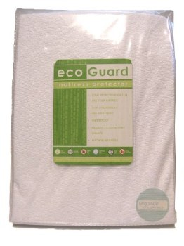 Mattress Protector KingSingle EcoGuard Bamboo Waterproof