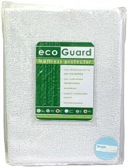 Mattress Protector Single Bed EcoGuard Bamboo Waterproof